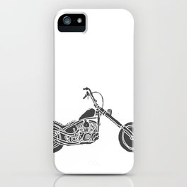 Moto Machina iPhone Case
