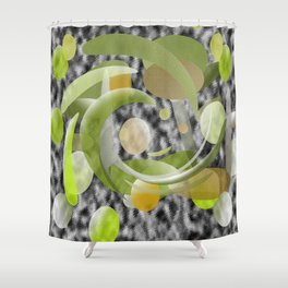 Elipted  Shower Curtain