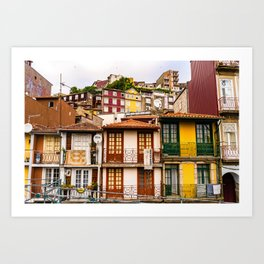 Portuguese Neighborhood Art Print