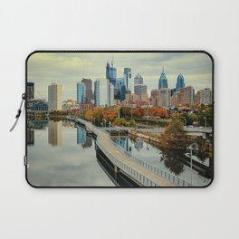 Philadelphia Fall Skyline Laptop Sleeve