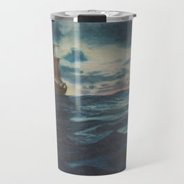 Sailing Boat- in oil Travel Mug