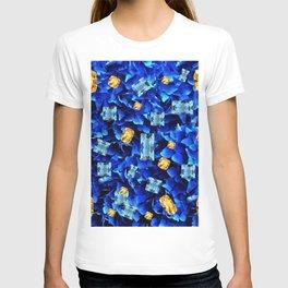 SEPTEMBER BLUE & CHAMPAGNE TOPAZ GEMS BIRTHSTONE ART T-shirt