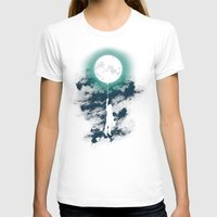 lady T-shirts featuring Burn the midnight oil  by Picomodi
