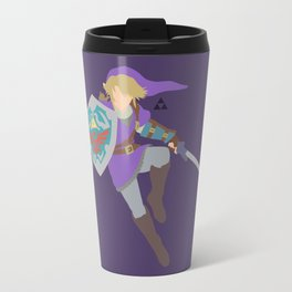 Link(Smash)Purple Travel Mug