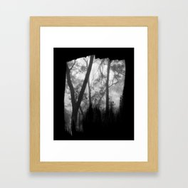 Lost in the Mist Framed Art Print