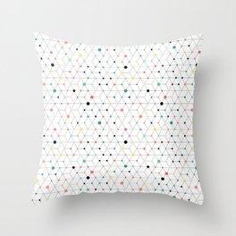 Connectome Throw Pillow