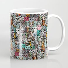 Gemstone Cats Mug