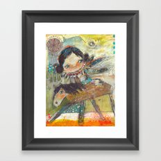 The Amazing Journey Framed Art Print