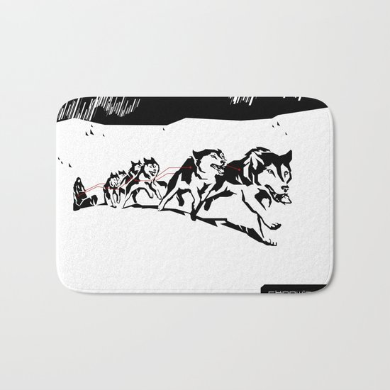 sknowledge // (husky team) Bath Mat