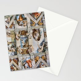 Sistine Chapel Ceiling Michelangelo Stationery Cards