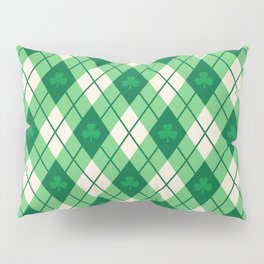 Irish Argyle Pillow Sham