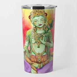 The Green Tara Travel Mug