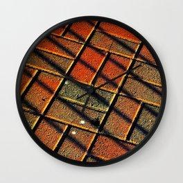 Brickline Wall Clock