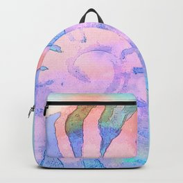NAUTILUS CONCH SEA SHELL IMPRESSION Backpack