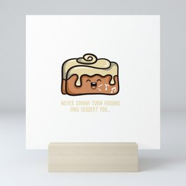 Cinnamon Rolled Mini Art Print
