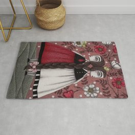 Snow-White and Rose-Red (1) Rug