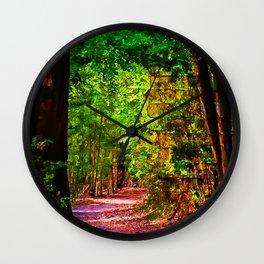 Walk on the Wild Side Wall Clock