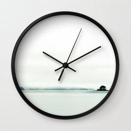 The Fog Lifts Wall Clock