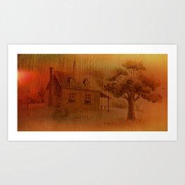 Country Hone Art Print