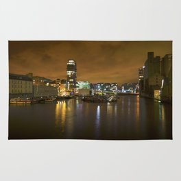 Reflections II - Grand Canal Dock Rug
