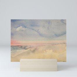 Sunrise in Seaside Mini Art Print
