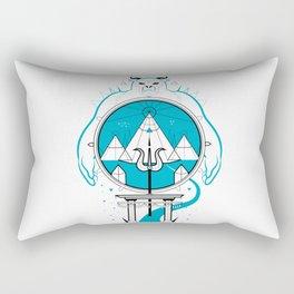 A Legend of Snow Rectangular Pillow