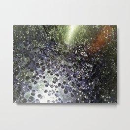 Oil & Water Metal Print