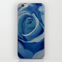Turquoise Rose iPhone Skin