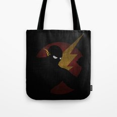 SuperHeroes Shadows : Flash Tote Bag