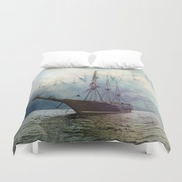 fernweh for distant lands [expedition to Galapagos] v2 Duvet Cover