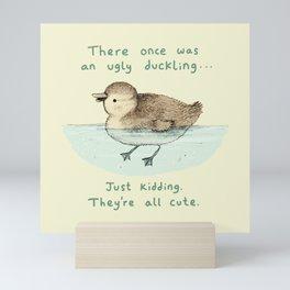 Ugly Duckling Mini Art Print