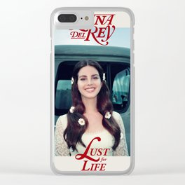 Lust For Life Clear iPhone Case