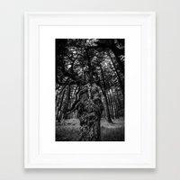 wizard Framed Art Prints featuring Wizard by Benson Hilgemann