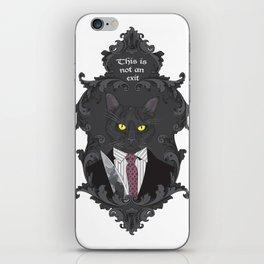 American Psycho Kitty iPhone Skin