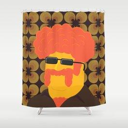 Dr. Joe Dynamo Shower Curtain