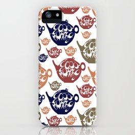 Good morning! Wake up pattern. iPhone Case