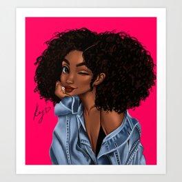 wink Art Print