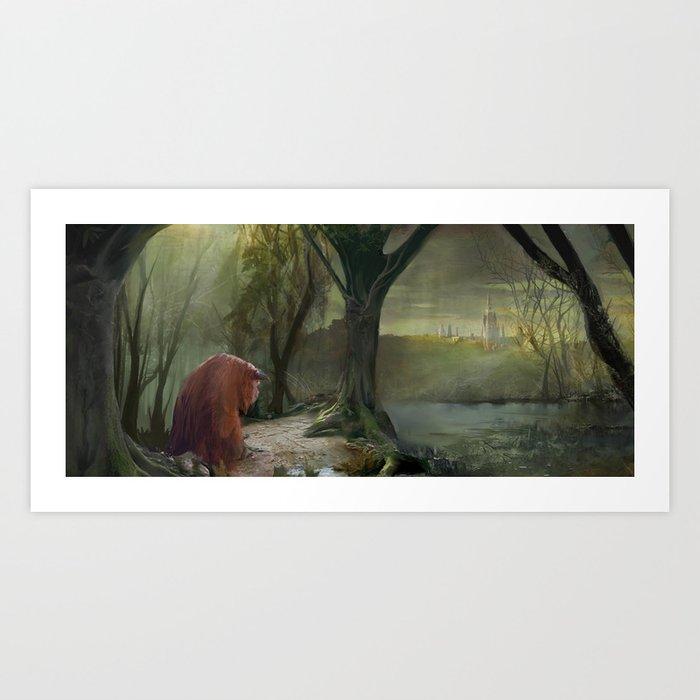 Labyrinth, Ludo, The Labyrinth, Concept Art Kunstdrucke
