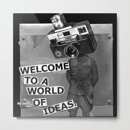 World of Ideas Metal Print