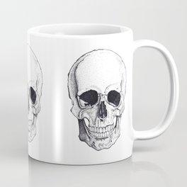Skull by Carla Marroquín Coffee Mug