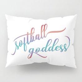 Softball Goddess Summer Ombre Pillow Sham