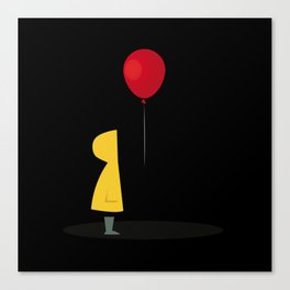 Red Balloon for 1 Penny Canvas Print