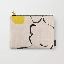 abstract minimal nude Carry-All Pouch