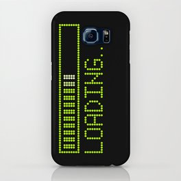 Green Loading Time Bar iPhone Case