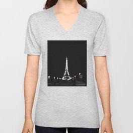 Paris Love Unisex V-Neck