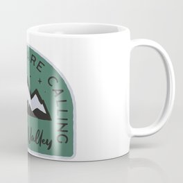 Squaw Valley Mountains are Calling Coffee Mug