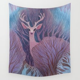 To Dream of Deer Wall Tapestry