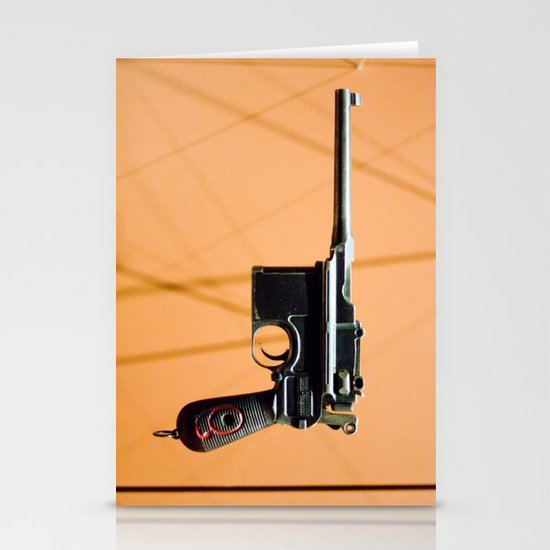 Luger in Colour Stationery Cards