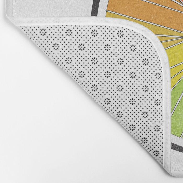 Color Wheel (Society6 Edition) Bath Mat