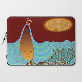 The Young Man And The Sea Laptop Sleeve